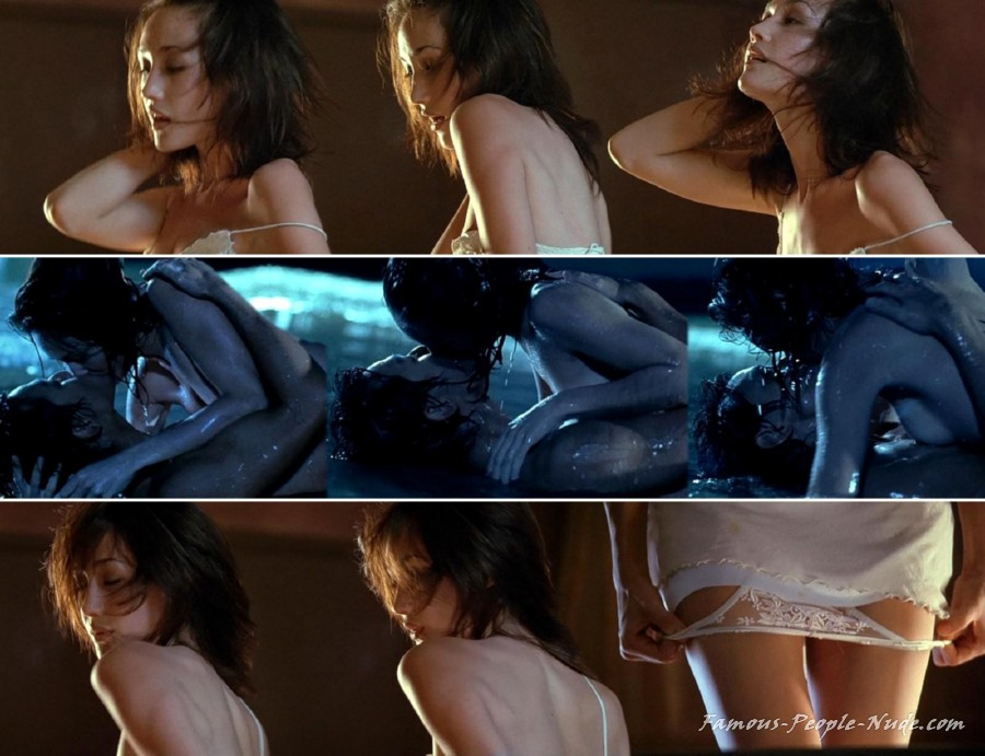 Maggie q hot sexy dance in naked weapon